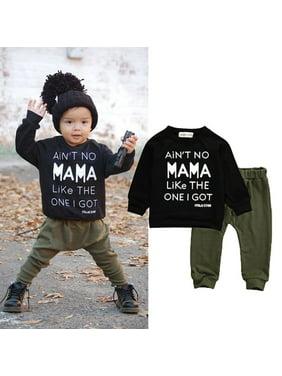 6e9bb5adc Boys Activewear Outfit Sets - Walmart.com
