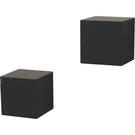 Shelf decor wall cube black - Cube wall decor ...