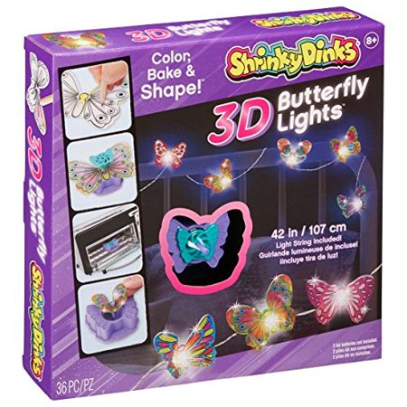 3D Butterfly Lights, Decorate your room with beautiful butterfly lights By Shrinky Dinks - Butterfly Lights