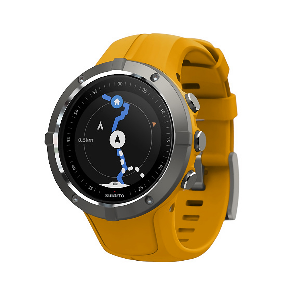 Suunto Spartan Trainer Wrist HR Watch, Amber by Suunto