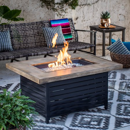 Red Ember Seeley Lake Gas Fire Table (Fire Table Gas)