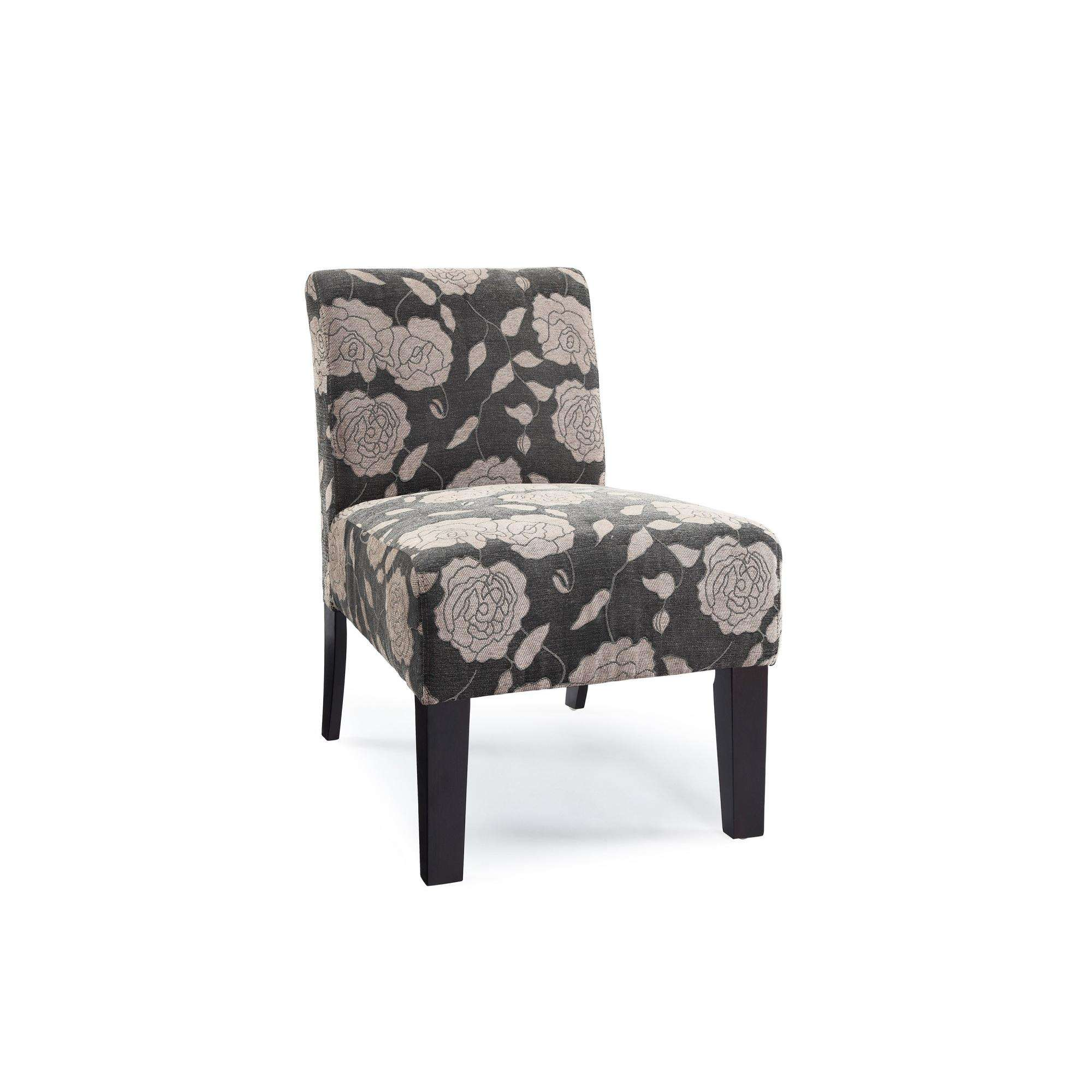 DHI Rose Deco Upholstered Accent Chair, Multiple Colors