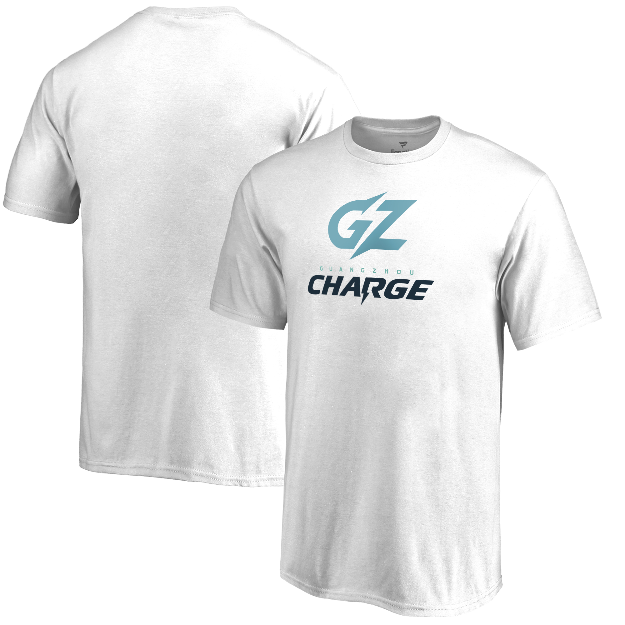 Guangzhou Charge Fanatics Branded Youth Team Identity T-Shirt - White