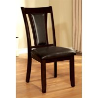 Bowery Hill Dining Chair in Dark Cherry (Set of 2)