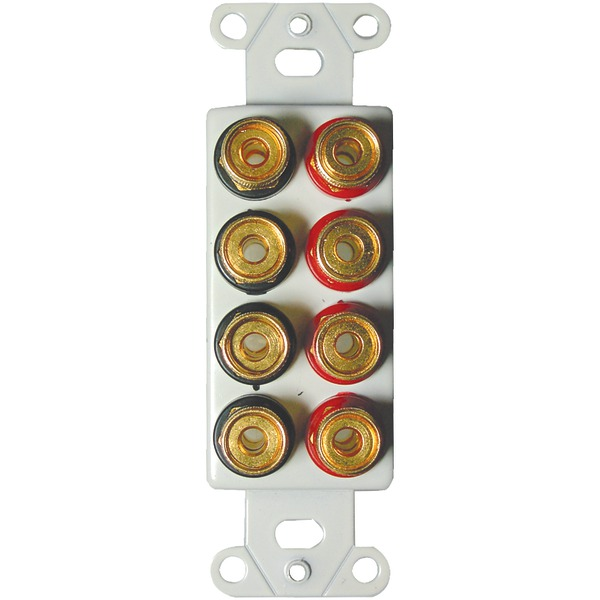 OEM Systems IWM-8BPG 5-Way Binding Posts, 8 Connector