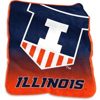 Illinois Fighting Illini Raschel Throw