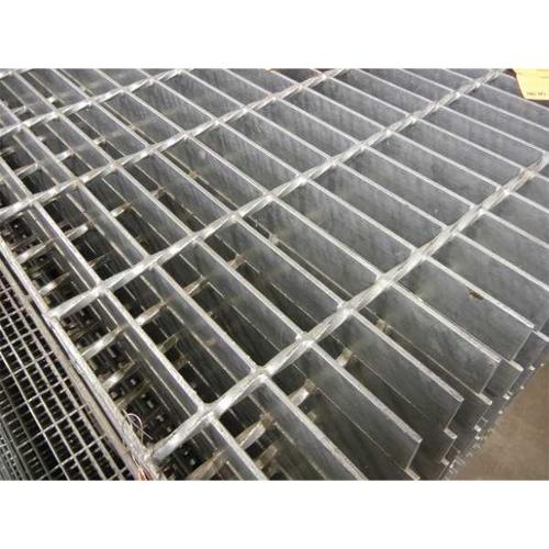 DIRECT METALS 20125S100-B4 Bar Grating,Smooth,24In. W,1In. H G7013395