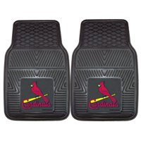 "St. Louis Cardinals 2-pc Vinyl Car Mats 17""x27"""