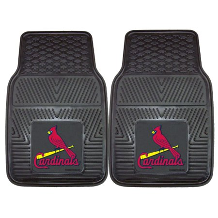 Arizona Cardinals Car Mats (St. Louis Cardinals 2-pc Vinyl Car Mats 17