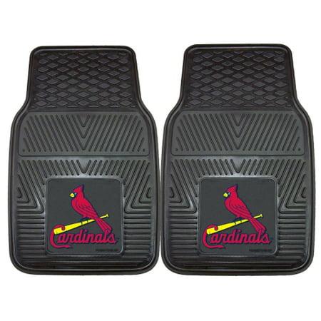 St. Louis Cardinals 2-pc Vinyl Car Mats 17