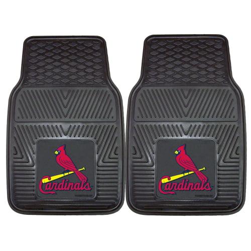 "St. Louis Cardinals 2-pc Vinyl Car Mats 17""x27"""