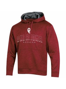 Men's Russell Athletic Crimson Oklahoma Sooners Synthetic Pullover Hoodie