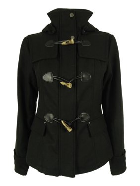 Celebrity Pink Juniors Hooded Toggle Peacoat