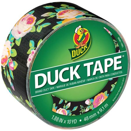 Floral Tape (Neon Floral - Patterned Duck Tape)