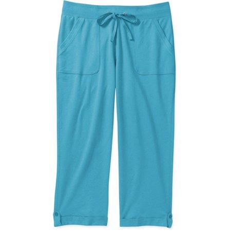 White Stag Knit Capri - Walmart.com