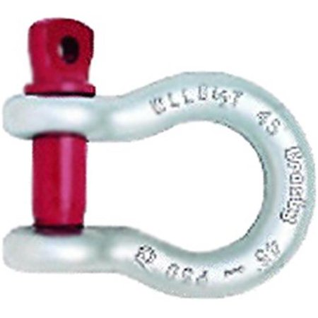Crosby 1018491 0.75 in. G209 Screw Pin Anchor Shackle, Galvanized - image 1 de 1