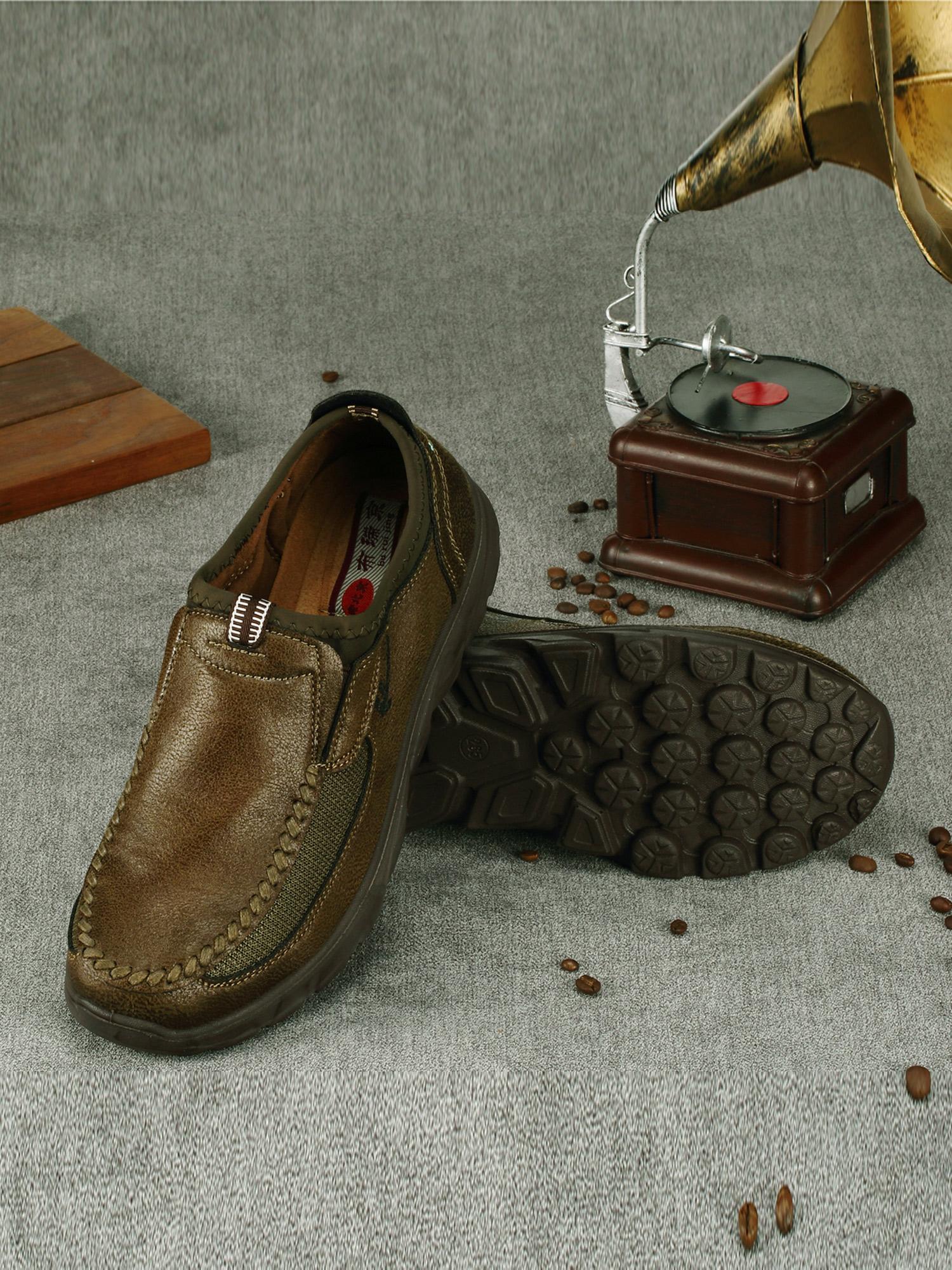 Fashion Men's Shoe Breathable Leather