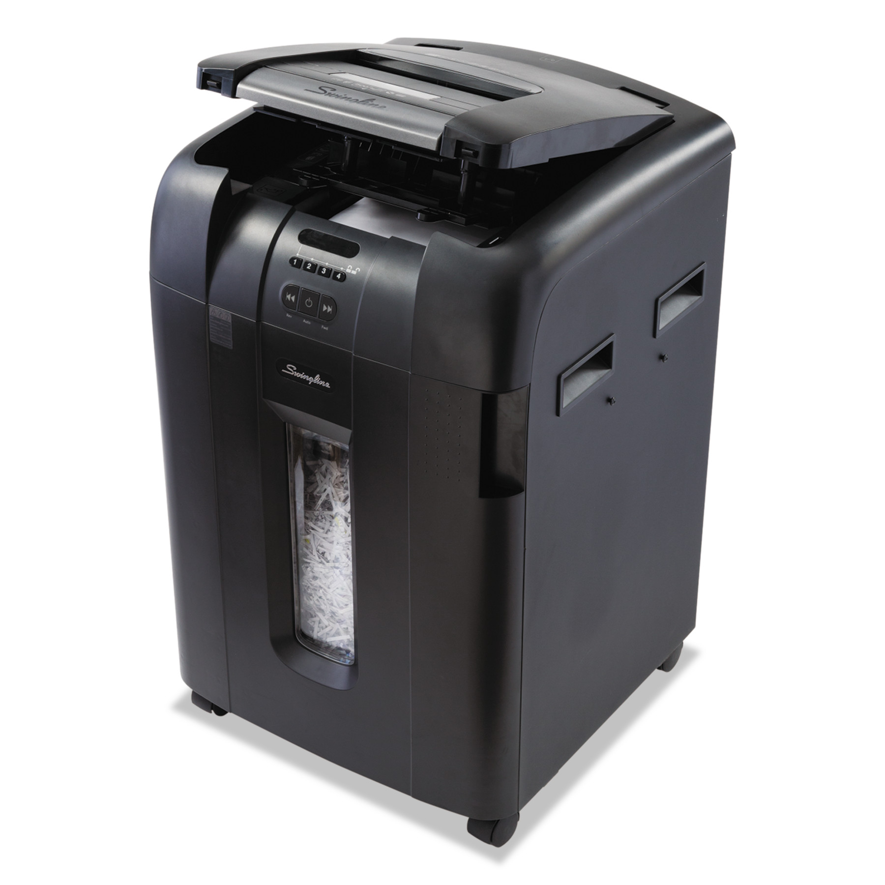 Swingline Stack-and-Shred 600XL Auto Feed Super Cross-Cut Shredder Value Pack, 600 Sheets