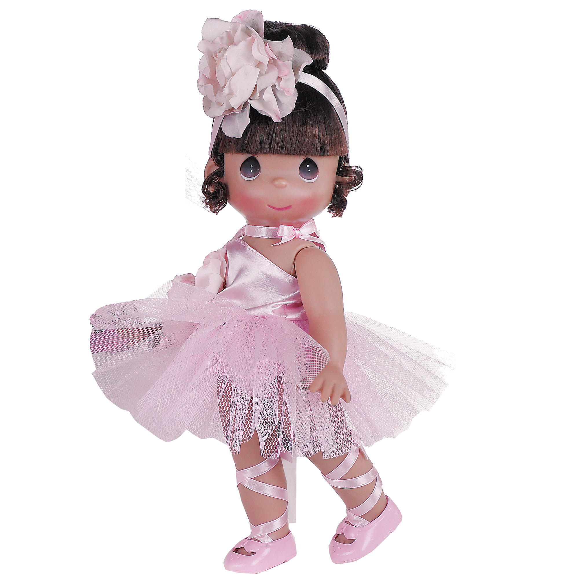 Precious Moments Dolls by The Doll Maker, Linda Rick, Ballerina Bliss Brunette, 12 inch doll