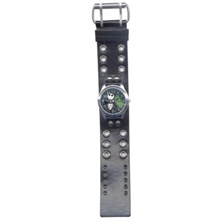 URBAN STATION 41578 THE NIGHTMARE BEFORE CHRISTMAS LEATHER BAND WATCH