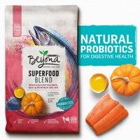 Purina Beyond Superfood Blend Salmon, Egg & Pumpkin Recipe Adult Dry Dog Food (Various Sizes)