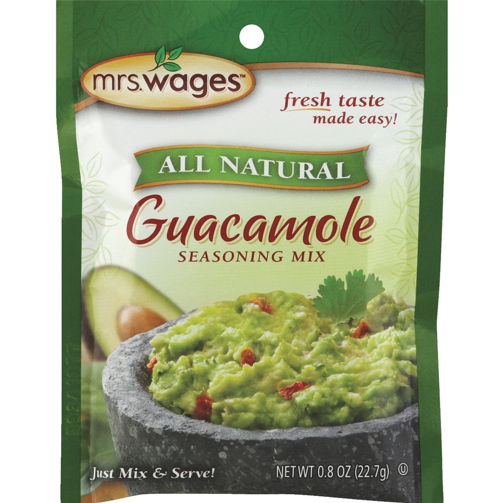 Mrs. Wages Guacamole Seasoning Mix, 0.8 oz