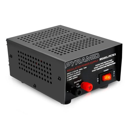PYRAMID PS7KX - Bench Power Supply, AC-to-DC Power Converter (5 Amp) (Power Supply Pyramid)