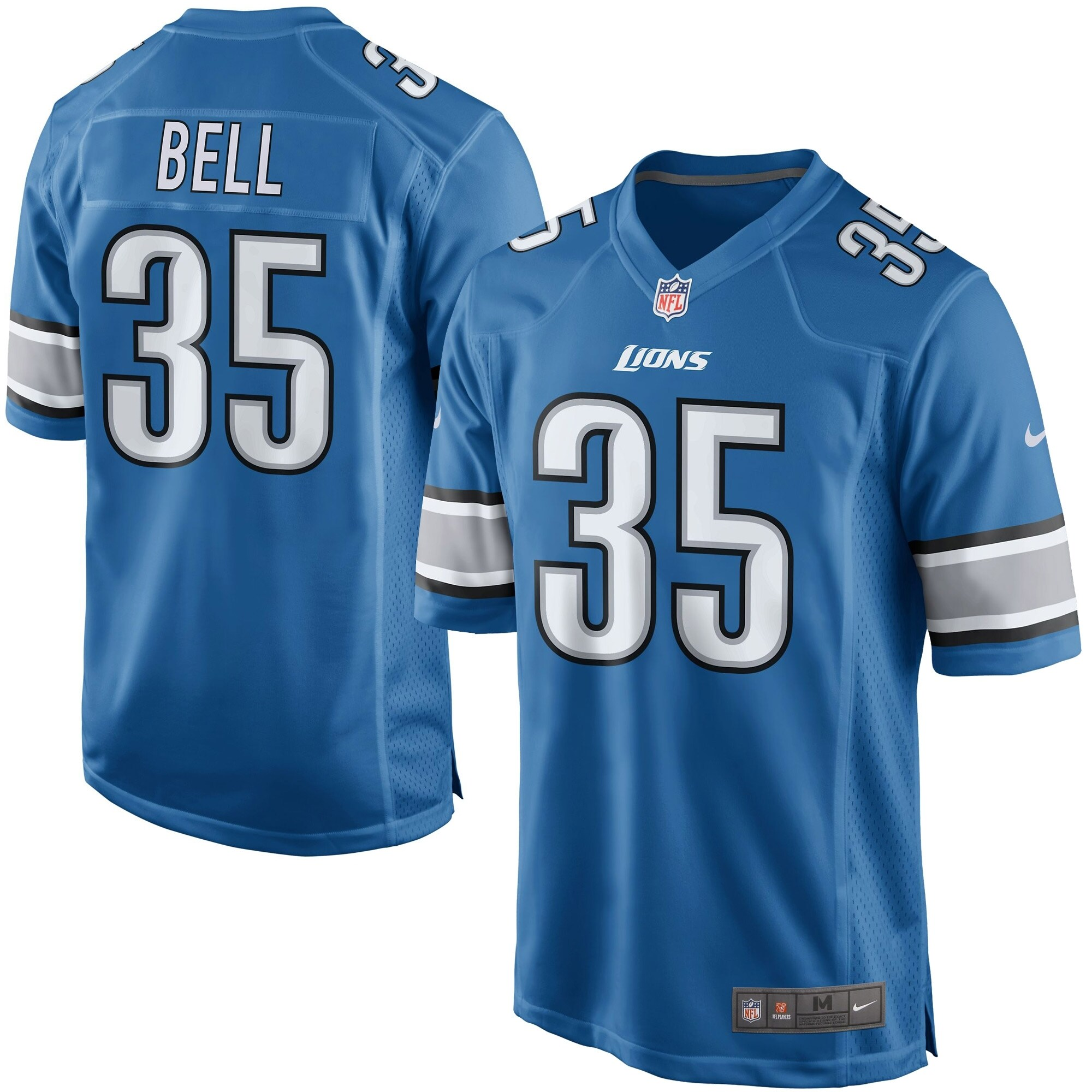 Joique Bell Detroit Lions Youth Nike Team Color Game Jersey - Blue - Walmart.com
