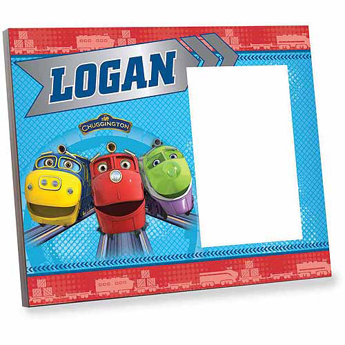 Personalized Chuggington Trainees Picture Frame