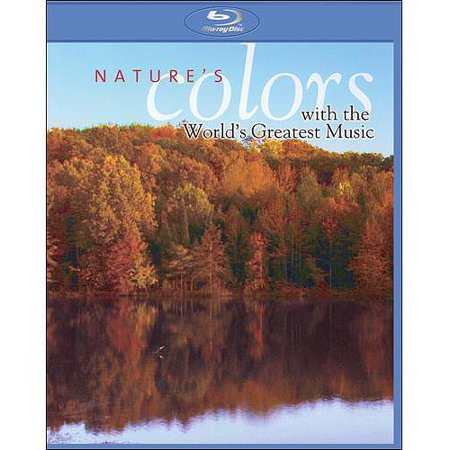 Nature's Colors With The World's Greatest Music With Various Artists - Blu-ray