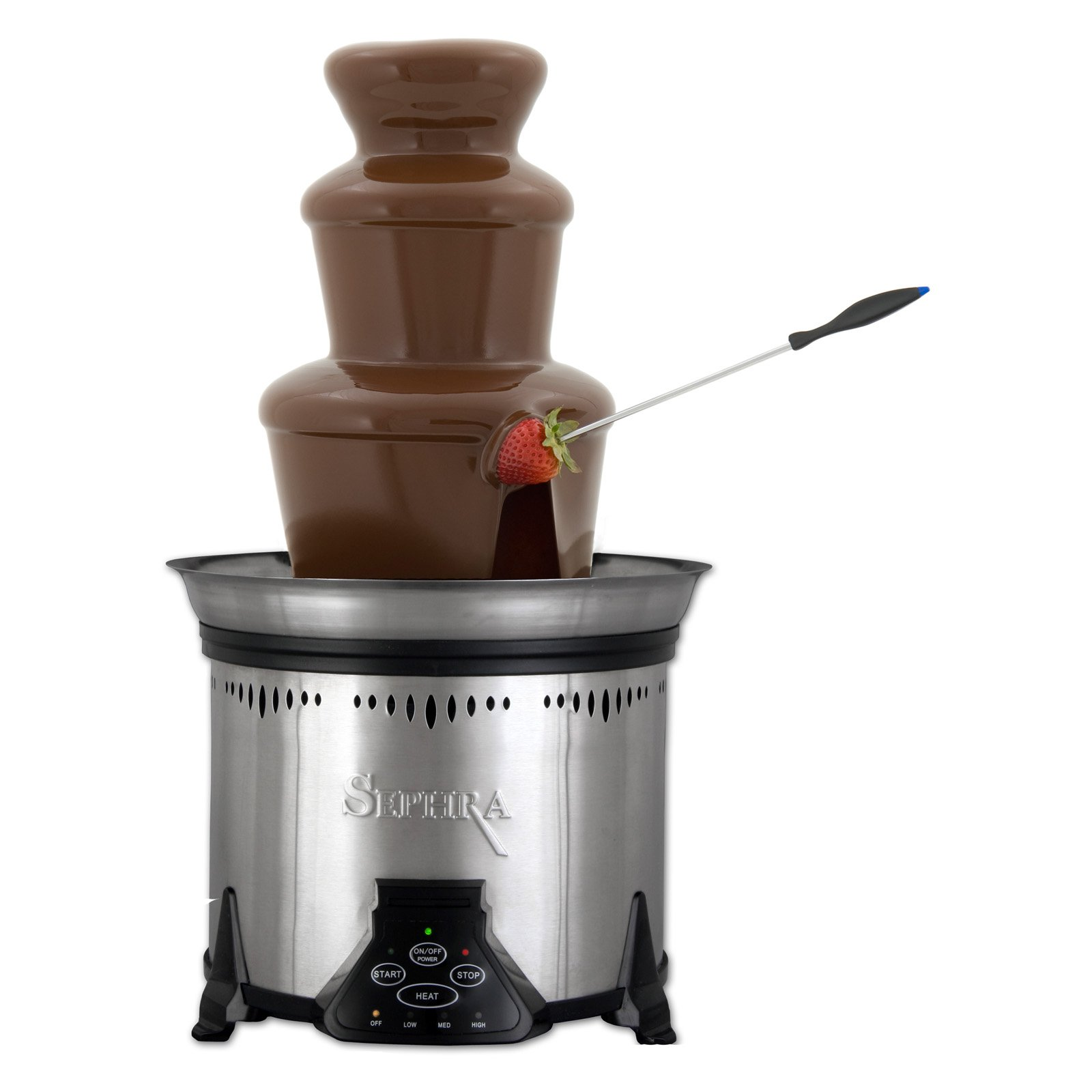 Sephra CF18M Elite Home Chocolate Fountain-Stainless Steel by Sephra