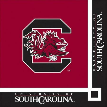 240 NCAA South Carolina Gamecocks 2-Ply Tailgating Party Beverage (South Carolina Beverage)