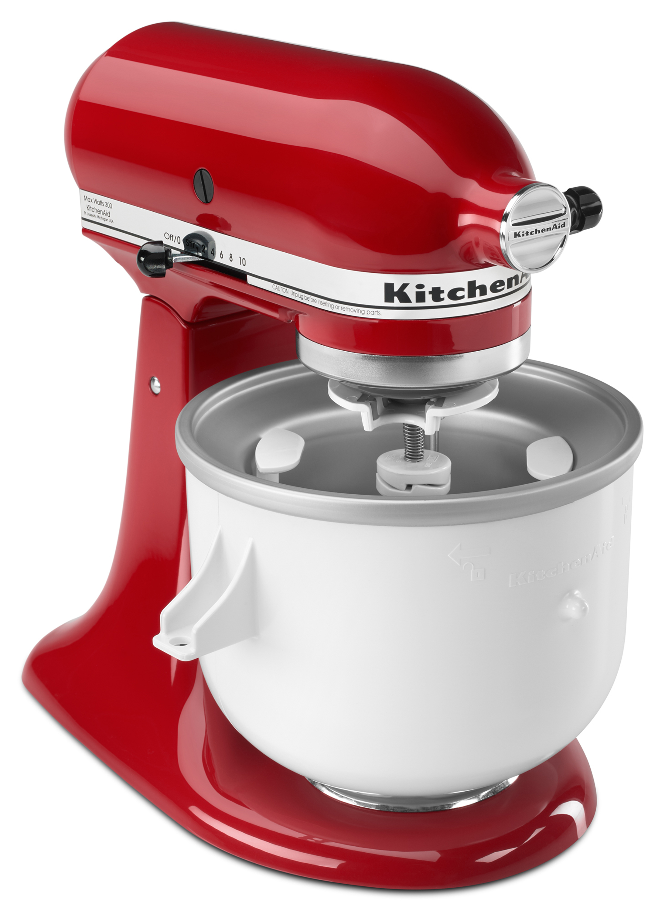 Whirlpool KitchenAid Ice Cream Maker Stand with Mixer Attachment, 1 on fall ice, champagne ice, whirlpool refrigerator ice, coffee ice,