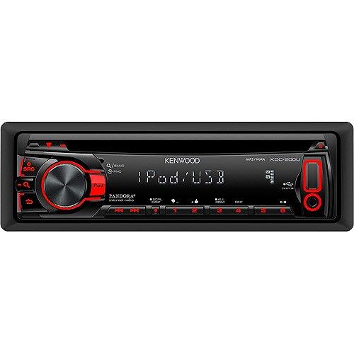 kenwood kdc 200u cd receiver with front usb input Kenwood KDC 138 Wiring
