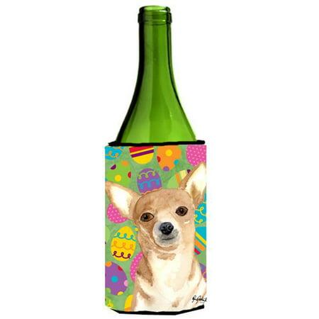 Eggravaganza Chihuahua Easter Wine bottle sleeve Hugger 24 oz. - image 1 de 1