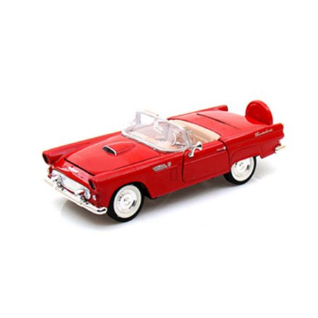1 by 24 1956 Ford Thunderbird Convertible Diecast Model Car,