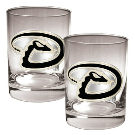 Arizona Diamondbacks 14oz. Rocks Glass Set - No Size