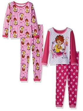4e81d045e6 Product Image Disney Girls  Toddler Fancy Nancy 4-Piece Cotton Pajama Set