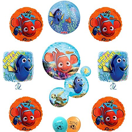 Finding Nemo and Dory Party Supply Ultimate Balloon Decoration Set (Nemo Pinata)