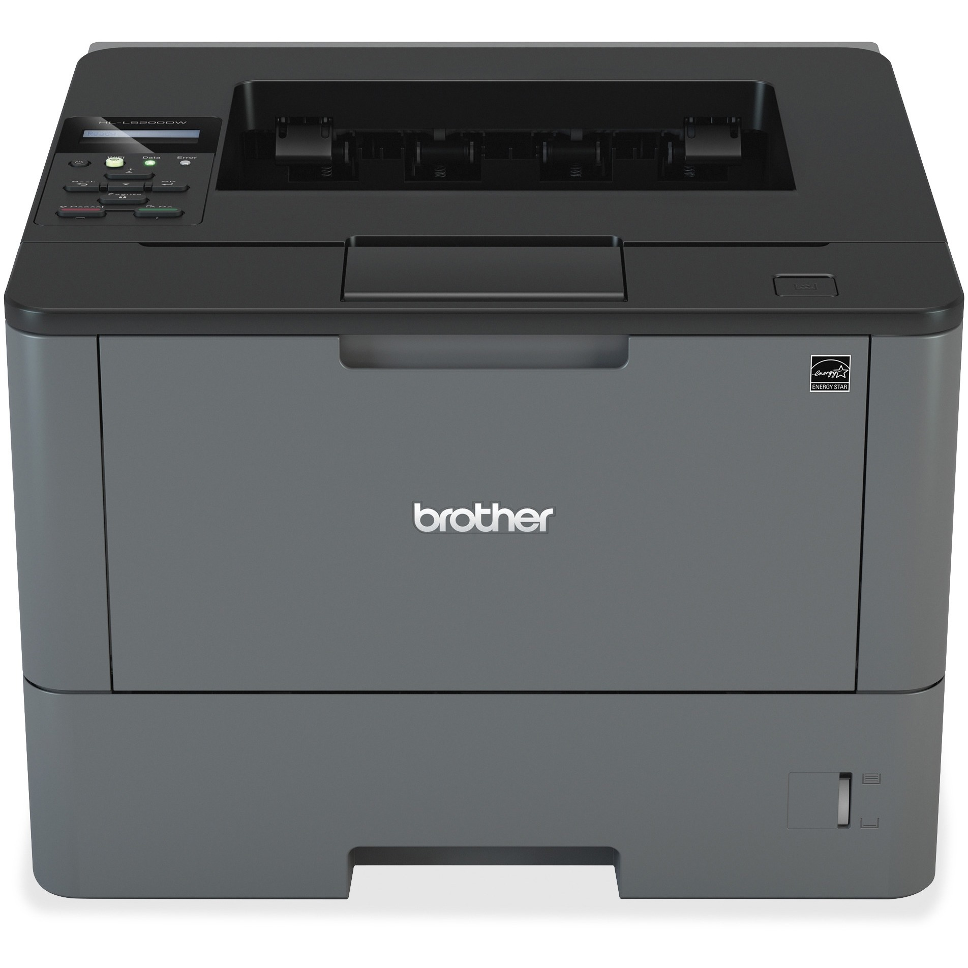 Brother Monochrome Laser Printer, HL-L5100DN, Duplex Two-Sided Printing, Ethernet Network Interface, Mobile Printing