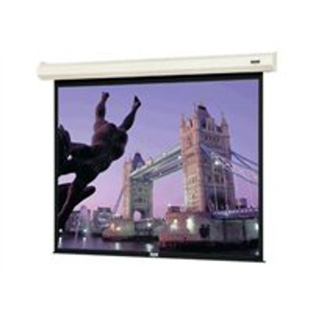 Da-Lite Cosmopolitan Electrol Video Format - Projection screen - motorized - 120 in ( 120.1 in ) - High Contrast Matte White Da Lite Motorized Screen