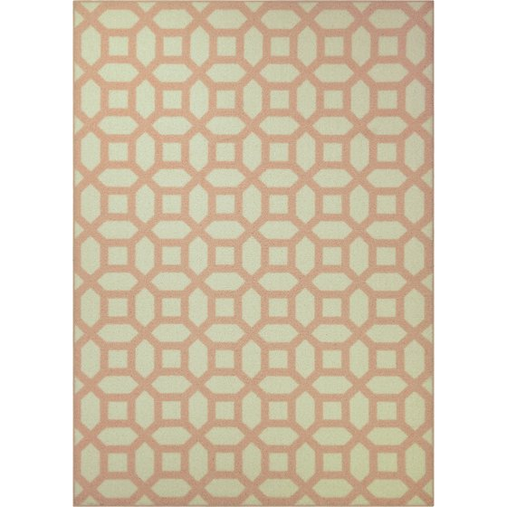 Mainstays kids geometric print area rug for Geometric print area rugs