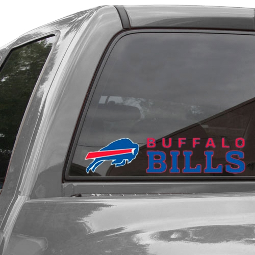 "Buffalo Bills WinCraft 4"" x 17"" Die-Cut Decal - No Size"