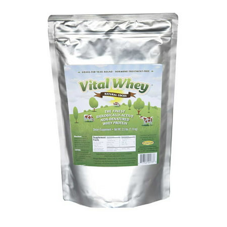 Well Wisdom Vital Natural Whey cacao 2.5lb