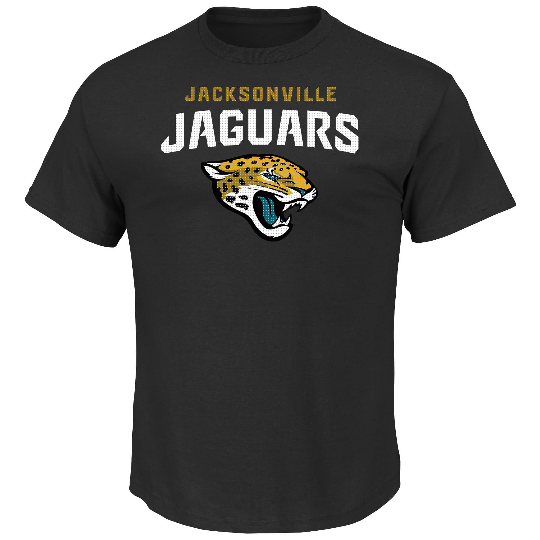 Jacksonville Jaguars Majestic Big & Tall Critcal Victory II T-Shirt - Black