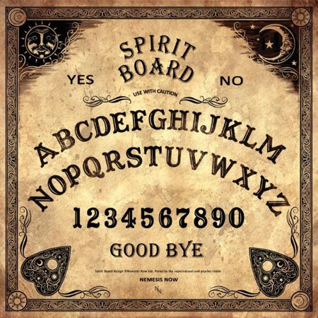 Nemesis Supernatural Psychic Spirit Ouija Board with Planchette Paranormal New (Supernatural Rpg Game)