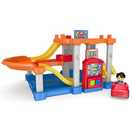 Fisher Price Chf61 Little People Rollin Ramps Garage Baby
