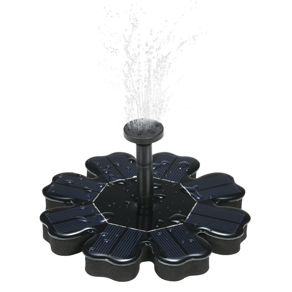 Solar Fountain Pump, Bird Bath Fountains, Floating Solar Pump Bird Bath Fountain Self powered For Garden and Patio Watering (Solar Fountain)