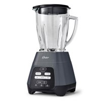 Oster Texture Select Master Series Blender with Blend-N-Go™ Cup and Glass Jar, Grey