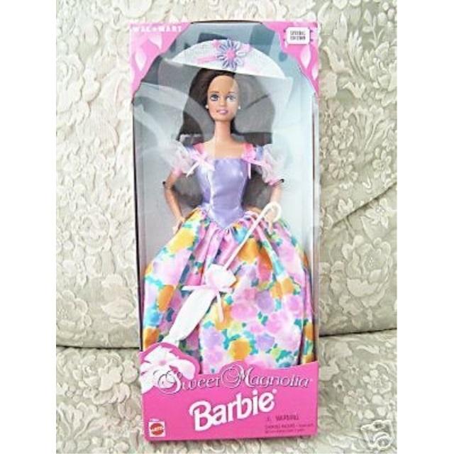 1996 Sweet Magnolia Barbie Brunette Walmart Com Walmart Com